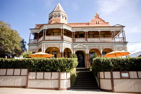 View of the former Queenscliff Hotel